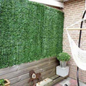 kihúzható műsövény kerítés